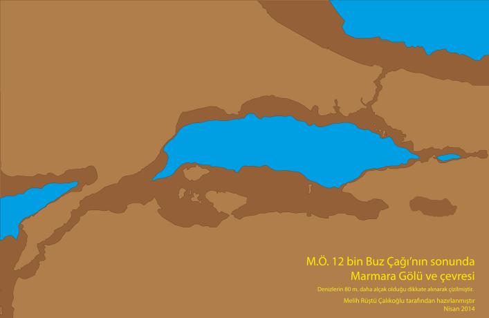 14 bin yıl önce Marmara Gölü